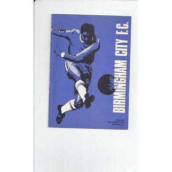 Birmingham City v Chelsea FA Cup 1967/68