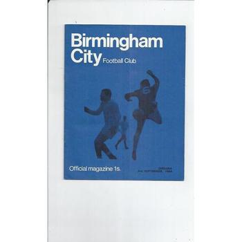 Birmingham City v Chelsea League Cup 1968/69