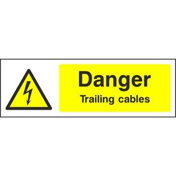 Danger Trailing cables