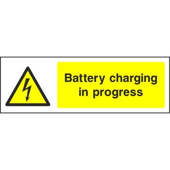 Battery charging in progress