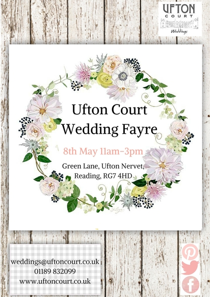 Ufton Court Wedding Fayre - 8th May 2016