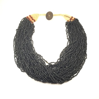 Black Boho Necklace