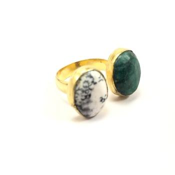 2 Stone Ring