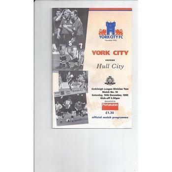 Hull City Away Football Programmes