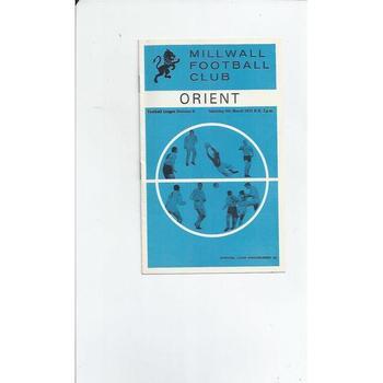 Leyton Orient Away Football Programmes