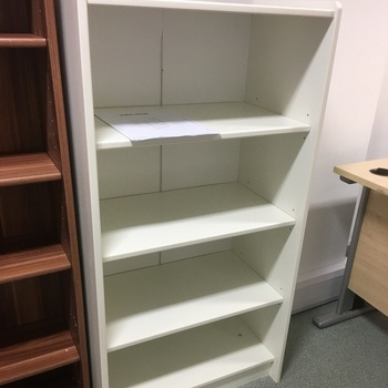 White Book Case