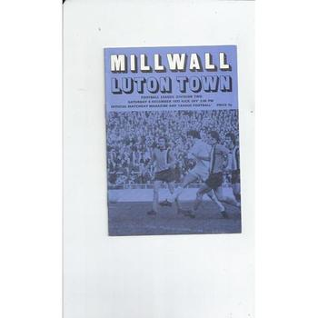 Millwall Home Football Programmes