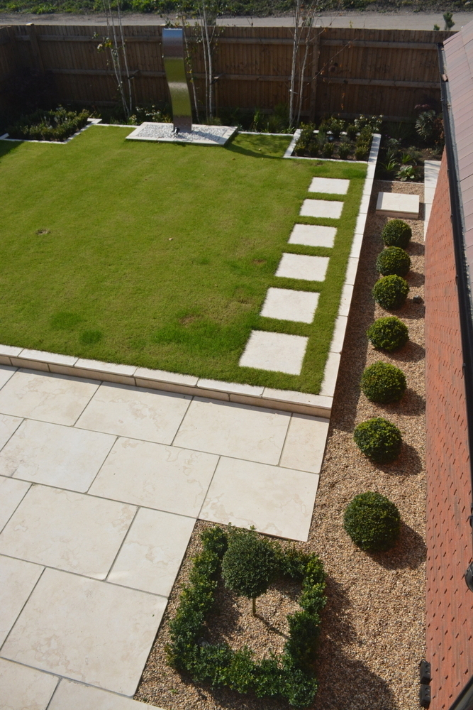 Robert Hughes Garden Design Landscaping Cardiff Slate and