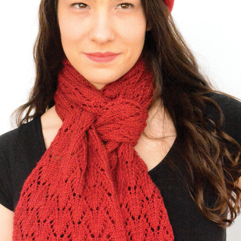 Brant Point hat and Scarf Pattern