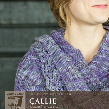 Callie Shawl Pattern (Juniper Moon Farm)