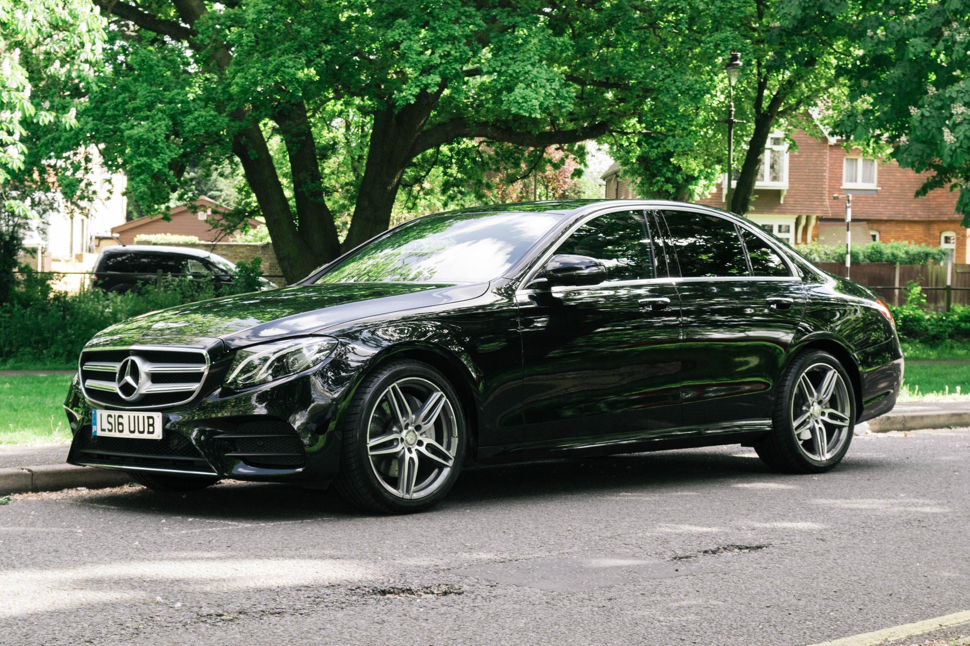 Mercedes benz e class car hire executive chauffeur car for London mercedes benz