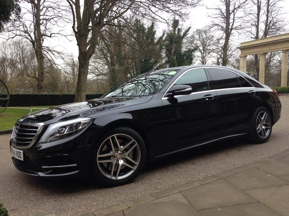 Mercedes benz s class private hire executive chauffeur for London mercedes benz