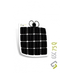 75 Watt Flexible Monocrystalline Panel (GSC75Q)