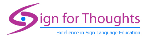 Sign for Thoughts | Established 2007 | BSL Training in the South East, South West and London