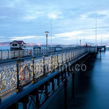 Sunrise at The Mumbles Pier ,Swansea Bay