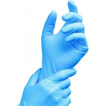 Light blue nitrile disposable glove - 'Bluemint'
