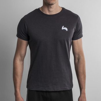 Fitted Slim Fit Black Tee
