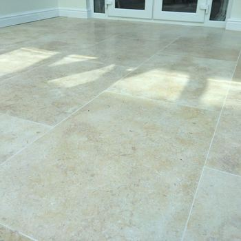 Tumbled Egyptian Limestone Flooring