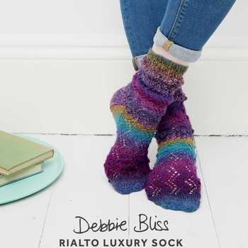 Rialto Sock Patterns (Debbie Bliss Luxury Sock Yarn)