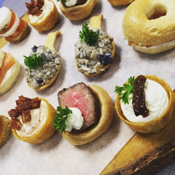 Canapes & Cocktails