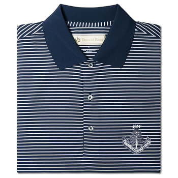 DR 019 - Short Sleeve Stripe - Navy/White