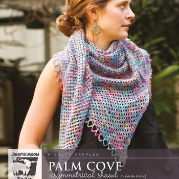 Palm Cove Shawl (Findley Dappled)