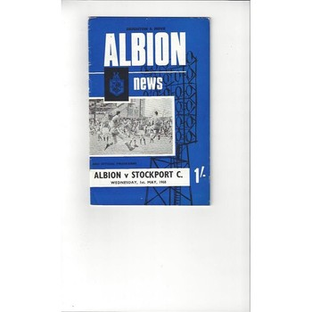 Brighton v Stockport County 1967/68 + League Review