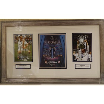 Ronaldo & Bale Signed Photos