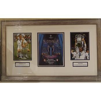 Ronaldo & Bale Signed Photos