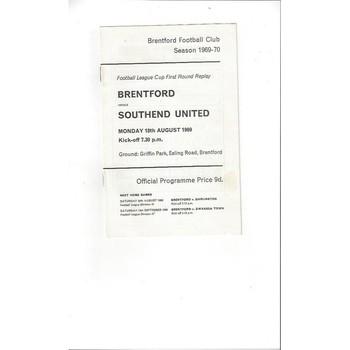 Brentford Football Programmes