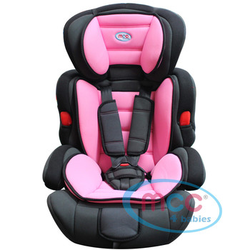 Mcc 3 in 1 Pink Baby Car Booster Seat For Group 1/2/3 9-36kg