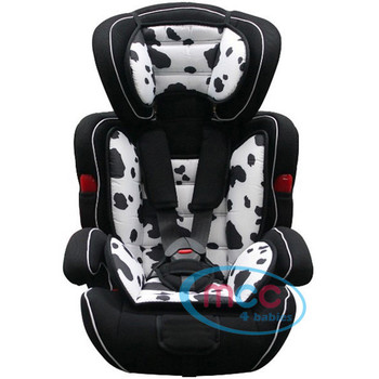 Mcc 3 in 1 Spotted Baby Car Booster Seat For Group 1/2/3 9-36kg