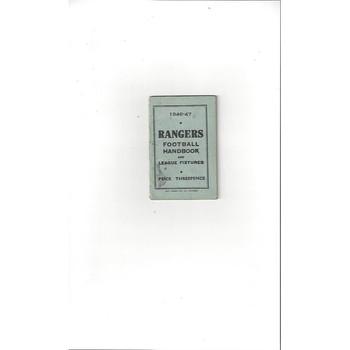 Rangers Official Football Handbook 1946/47