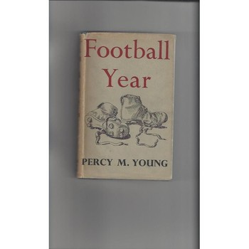 Football Year Book. By Percy M Young 1956  FIRST EDITION - Hardback Edition