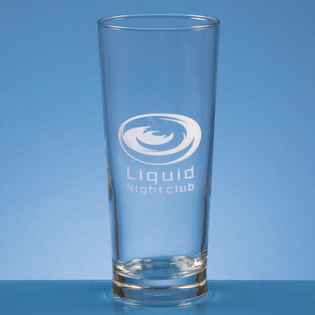 Straight Sided Beer Glass 0.58ltr