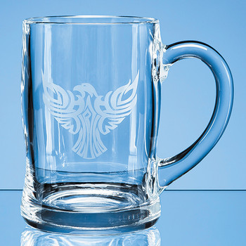 Curved Plain Tankard 0.45ltr