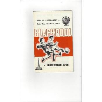 Blackpool v Huddersfield Town 1969/70