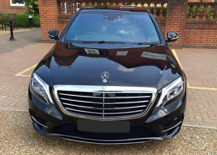 Front of Chauffeur Car in Leatherhead
