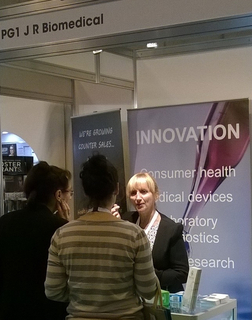 JRBiomedical at the Pharmacy Show NEC Birmingham