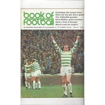 Book of Football Marshall Cavendish 1971 Part 3