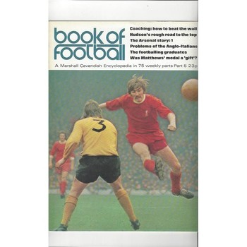 Book of Football Marshall Cavendish 1971 Part 5