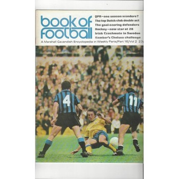 Book of Football Marshall Cavendish 1972 Part 16