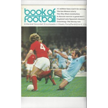 Book of Football Marshall Cavendish 1972 Part 20