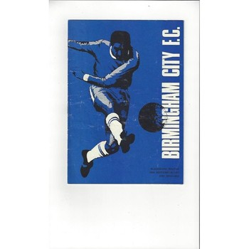 Birmingham City v Blackburn Rovers 1967/68