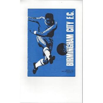 Birmingham City v Bristol City 1967/68