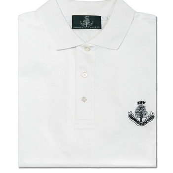 Sardegna Short Sleeve Polo - White