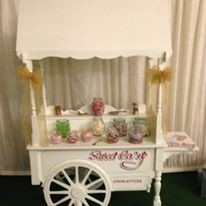 Beautiful Hand Made Sweet Cart