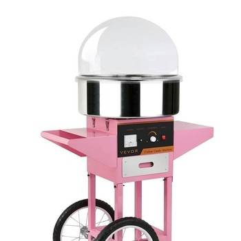 Pretty In Pink Traditional Candy Floss Machine
