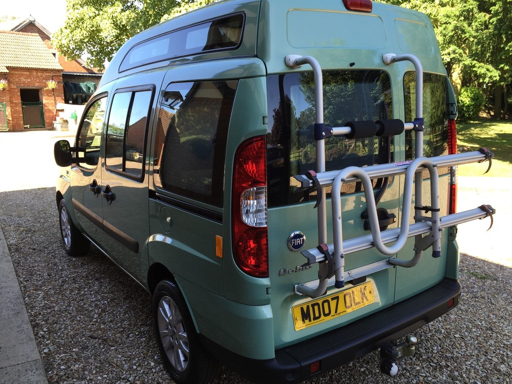 fiat doblo camper van 2007 super low 19650 miles stunning dragonville leisure. Black Bedroom Furniture Sets. Home Design Ideas
