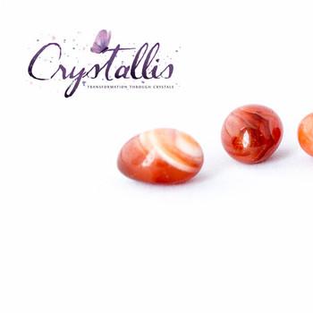 Agate - Apricot Tumblestone